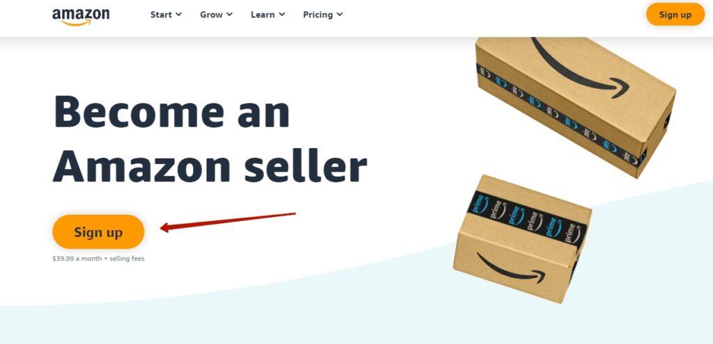 Регистрация на Амазон 6
