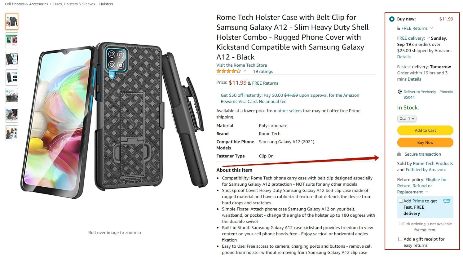 Amazon case